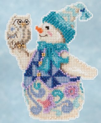 Jim Shore Kits JS205103 Snowy Owl Snowman