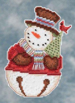 Mill Hill Debbie Mumm Kits DM204105 Winter Series 2014 ~ Frank Snowbell