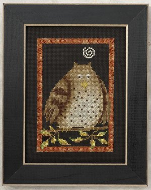 Mill Hill Debbie Mumm Kits DM300101 Moonlight Madness 2010 ~ Hooty Owl