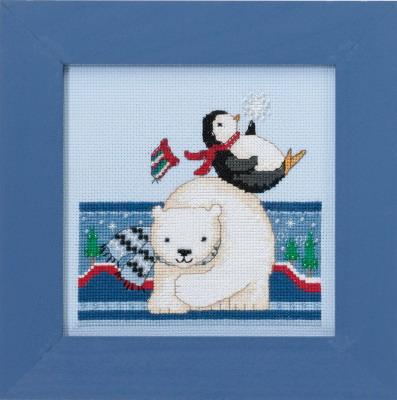 Mill Hill Debbie Mumm Kits DM301711 Polar Opposites ~ Polar Play