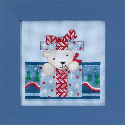 Mill Hill Debbie Mumm Kits DM301715 Polar Opposites ~ Polar Surprise
