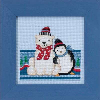 Mill Hill Debbie Mumm Kits DM301716 Polar Opposites ~ Polar Peace