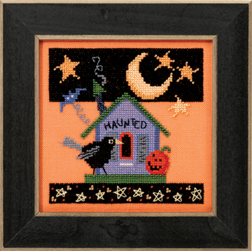 Mill Hill Debbie Mumm Kits DM303103 Frighful Delights 2013 ~ Haunted Crow