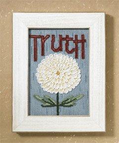 Mill Hill Debbie Mumm Kits DM307101 Words For Life 2007 ~ Truth