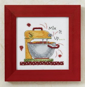 Mill Hill Debbie Mumm Kits DM307201 Kitchen Collection 2007 ~ Mix It Up