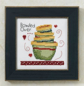 Mill Hill Debbie Mumm Kits DM307202 Kitchen Collection 2007 ~ Bowled Over