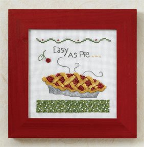 Mill Hill Debbie Mumm Kits DM307204 Kitchen Collection 2007 ~ Easy As Pie