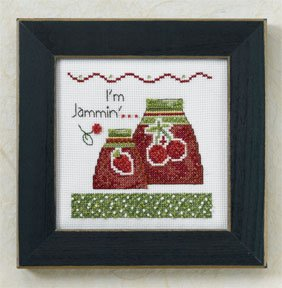 Mill Hill Debbie Mumm Kits DM307205 Kitchen Collection 2007 ~ I'm Jammin
