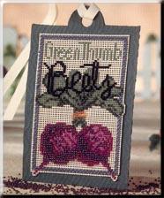 Mill Hill Debbie Mumm Kits DMST3 Seed Tag ~ Green Thumb Beets