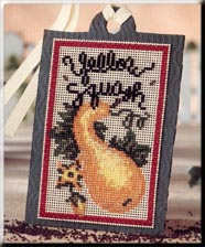 Mill Hill Debbie Mumm Kits DMST4 Seed Tag ~ Yellow Squash