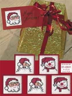 Permin Kits010501 ~ Gift Tags ~ 20 count Aida