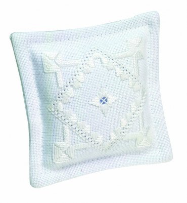 Permin Kits033110 ~ Pincushion Hardanger ~ 22 count Hardanger