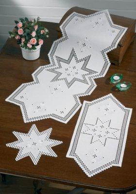 Permin Kits104624 ~ Star Hardanger ~ 22 count Hardanger