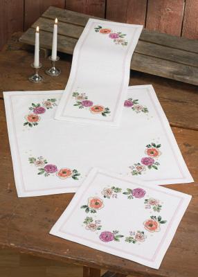 Permin Kits106815 ~ Flowers ~ Doily (bottom) ~ 11 Count Aida