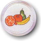 Permin Kits119109 ~ Magnet - Orange & Banana