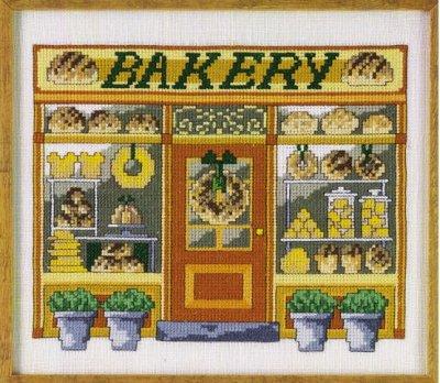 Permin Kits120426 ~ Bakery ~ 26 count Linen