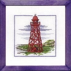 Permin Kits122163 ~ Lighthouse ~ 16 count Aida