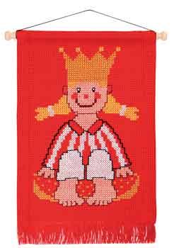 Permin Kits128382 ~ Princess ~ 8 count Aida