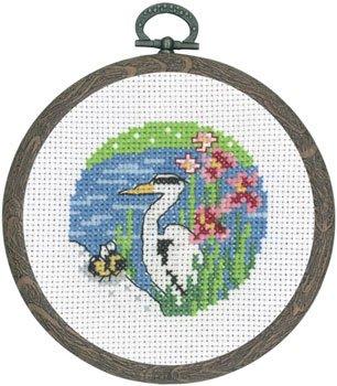 Permin Kits131364 ~ Egret ~ 14 count Aida