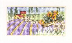 Permin Kits133153 ~ Sunflowers ~ 18 count Aida