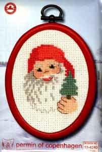 Permin Kits134240 ~ Santa ~ 16 count Aida