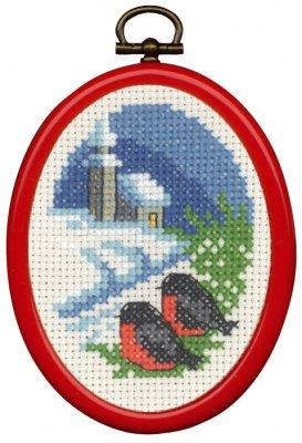 Permin Kits135278 ~ Church ~ 14 count Aida