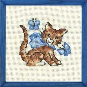 Permin Kits137374 ~ Sweet Kitten - My First Kit ~