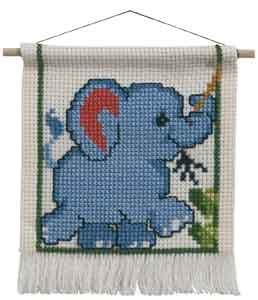 Permin Kits139352 ~ Elephant ~ 8 count Aida