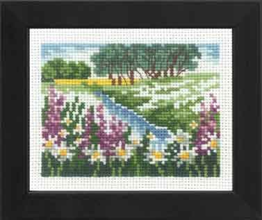 Permin Kits141195 ~ The River ~ 16 count Aida