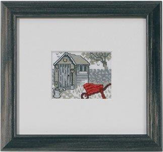 Permin Kits141323 ~ Garden House ~ 18 count Aida