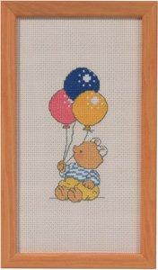 Permin Kits142148 ~ Balloons ~ 14 count Aida