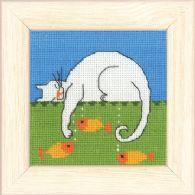 Permin Kits148175 ~ Cat ~ 16 count Aida