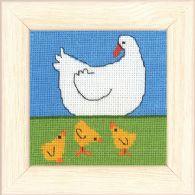 Permin Kits148177 ~ Duck & Ducklin ~ 16 count Aida