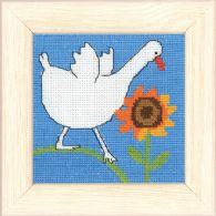 Permin Kits148179 ~ Goose ~ 16 count Aida