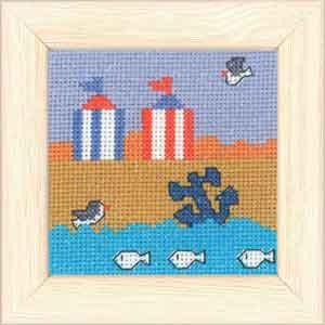 Permin Kits149136 ~ Beach ~ 14 count Aida