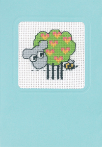 Permin Kits174182 ~ Sheep 3~ 16 count Aida