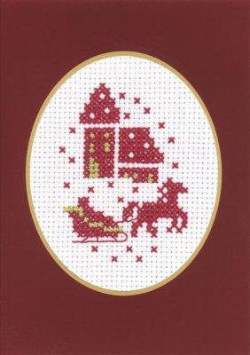 Permin Kits174284 ~ Church - Card ~ 14 count Aida