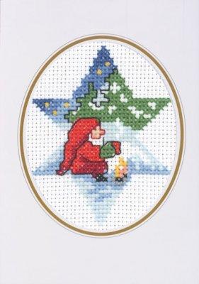 Permin Kits174289 ~ Elf - Card ~ 14 count Aida