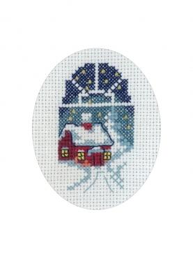 Permin Kits176270 ~ Reindeer Card ~ 16 count Aida