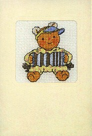 Permin Kits178446 ~ Teddy Bear in Costume ~ 16 count Aida