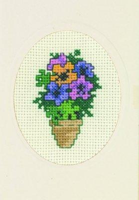 Permin Kits179363 ~ Buttercup Card ~ 16 count Aida