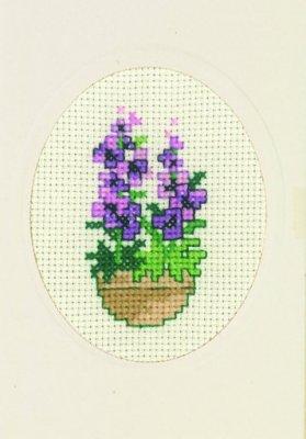 Permin Kits179365 ~ Buttercup Card ~ 16 count Aida