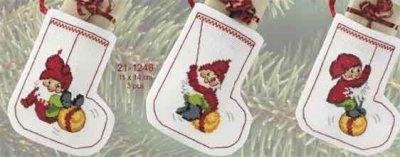 Permin Kits211246 ~ Christmas Stocking ~ 14 count Aida