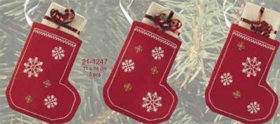 Permin Kits211247 ~ Christmas Stocking ~ 14 count Aida