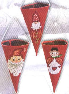 Permin Kits219541 ~ Christmas Cup Red ~ 16 count Linen
