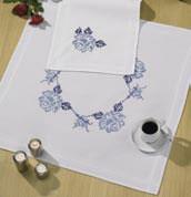 Permin Kits271670 ~ Garland Tablecloth ~ Cotton