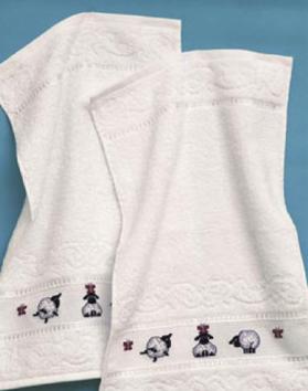 Permin Kits282535 ~ Sheep Towels