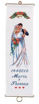 Permin Kits368159 ~ Wedding ~ 14 count Aida