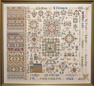 Permin Kits398406 ~ Sampler Antique ~ 30 count Linen