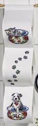 Permin Kits411689 ~ Kitten/Puppy Toilet Paper Holder ~ 14 count Aida